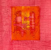 """Virtuose 17"" 2018, London, oil on paper, 18.5 X 15.2 in, 46 X 38 cm."