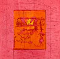 """Virtuose "" 2018, London, oil on paper, 18.5 X 15.2 in, 46 X 38 cm."