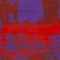""""""" Thème, variations et résonances 03"""" 2017, London, oil,paint on linen mounted on panel, 64 X 42 in, 160 X 103 cm."""