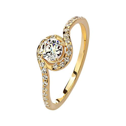 Помолвочное кольцо. Модель SVD18