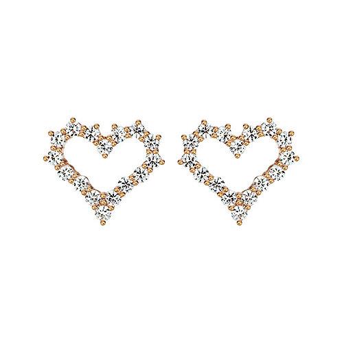 Серьги с бриллиантами. Модель А13