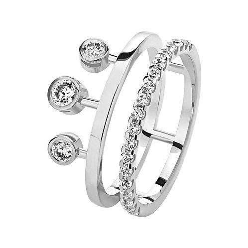 Кольцо с бриллиантами. Модель AWS3