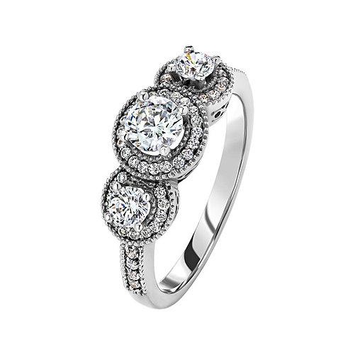 Помолвочное кольцо. Модель SVD37