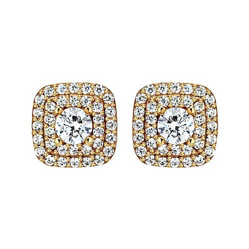 Серьги с бриллиантами. Модель А20