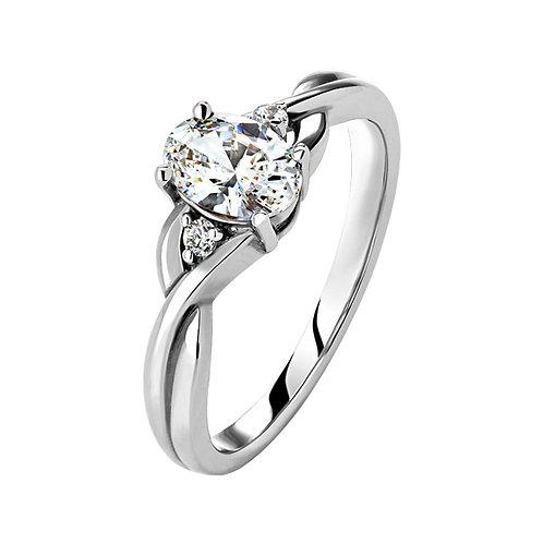 Помолвочное кольцо. Модель SVD31
