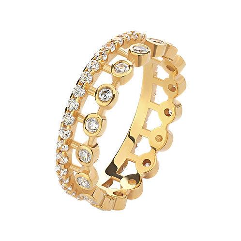 Кольцо с бриллиантами. Модель AWS17