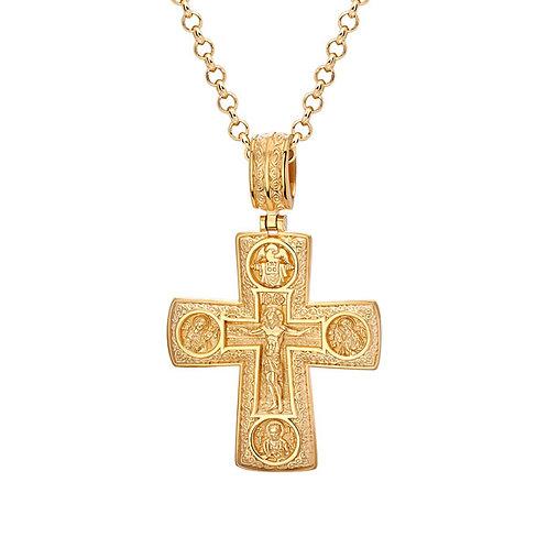 Крест из золота. Модель KR1
