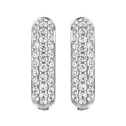 Серьги с бриллиантами. Модель А2