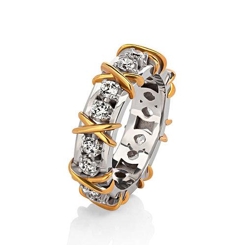 Дизайнерское кольцо VX15