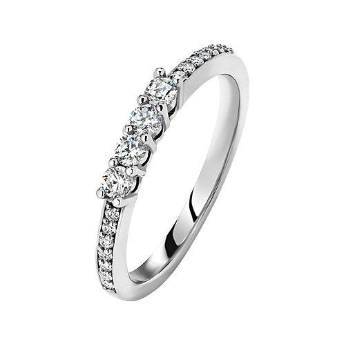 Кольцо с бриллиантами. Модель SDF51