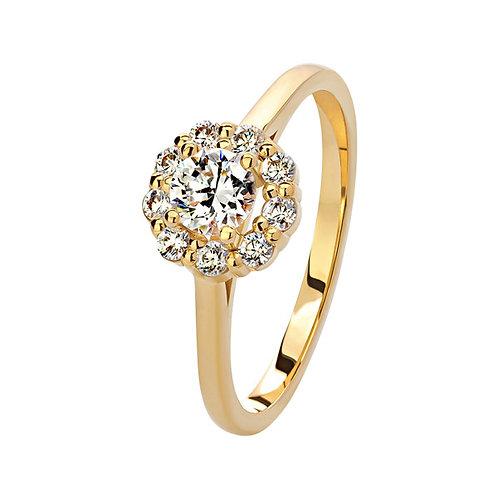 Помолвочное кольцо. Модель SVD8