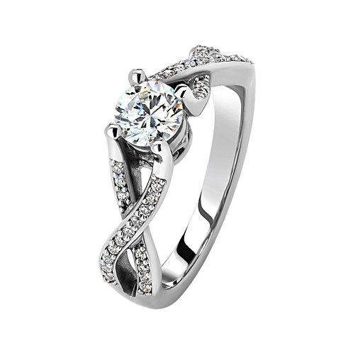 Помолвочное кольцо. Модель SVD39