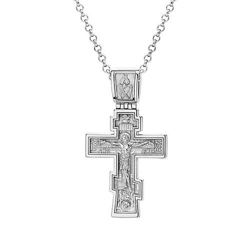 Крест из золота. Модель KR5