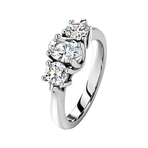 Помолвочное кольцо. Модель SVD36