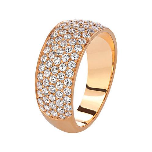 Кольцо с бриллиантами. Модель SDF37