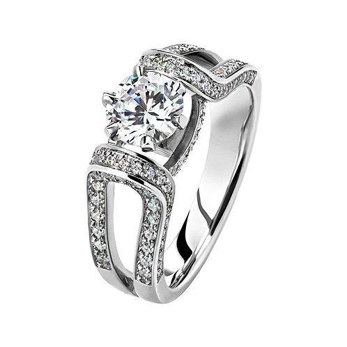 Помолвочное кольцо. Модель SVD38