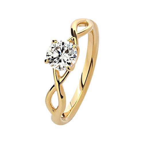 Помолвочное кольцо. Модель SVD4