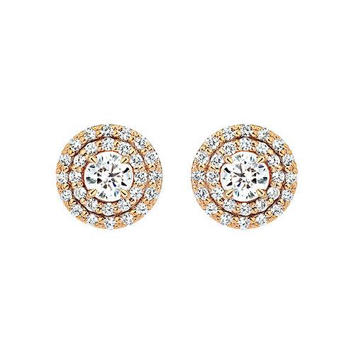 Серьги с бриллиантами. Модель А15