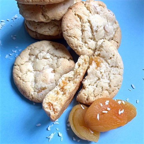 COCONUT & APRICOT COOKIES
