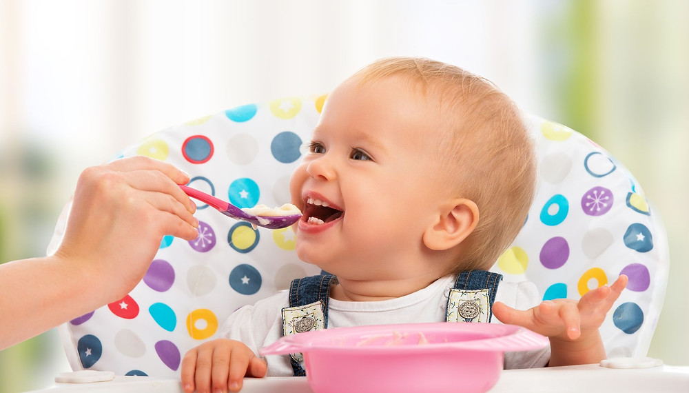 Alimentos sanos para Bebes