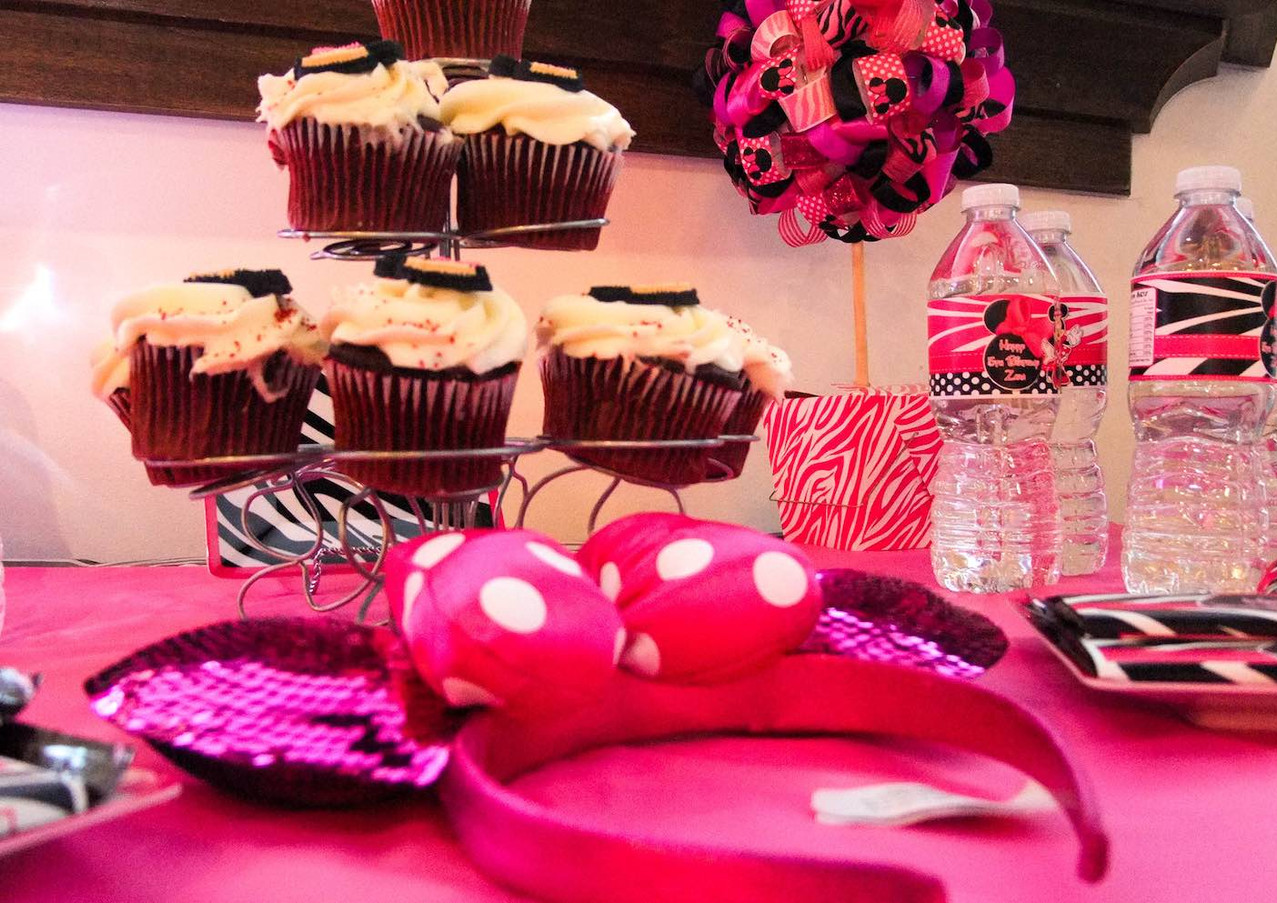 atlanta kids party planner minnie mouse