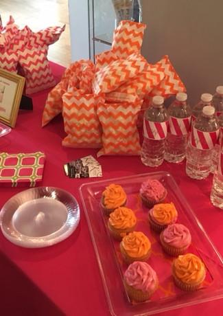 atlanta desert table cupcakes birthday p