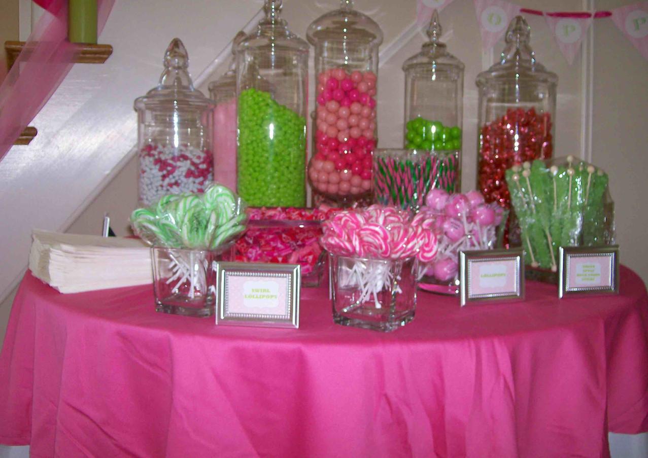 candy buffet desert table atlanta event