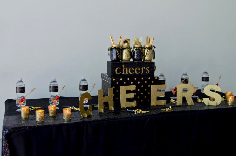 atlanta event planning black and gold th