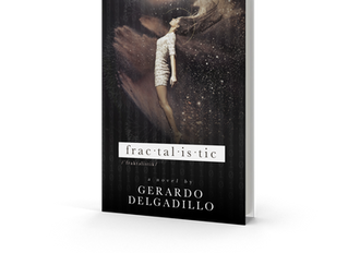 #CoverReveal for Fractalistic by Gerardo Delgadillo