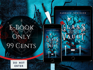 Quinsey Wolfe's Glass Vault - Blog Tour Takeover, Review & Giveaway!