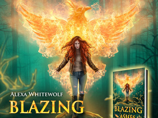 """#CoverReveal """"Blazing Ashes"""" by Alexa Whitewolf, Excerpt & Inside Info!"""