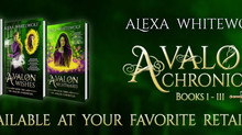 #CoverReveal for The Avalon Chronicles #FantasyRomance
