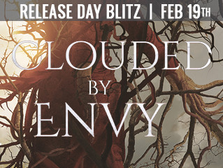 Release Day Blitz - Clouded by Envy