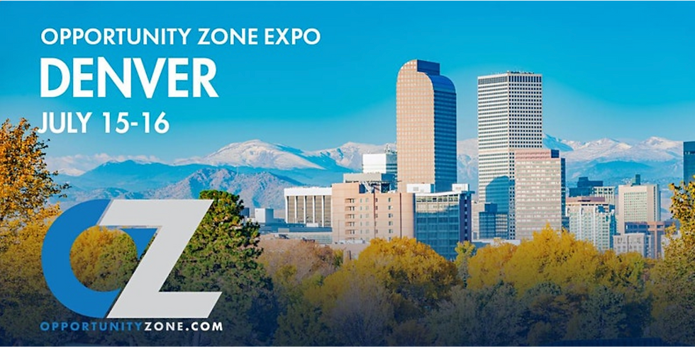 Opportunity Zone Expo and Top 25 OZ Influencers 2020 (Speaking and Accepting an Award)