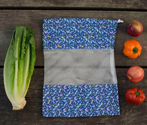 Blue Butterfly ONEBag for Produce