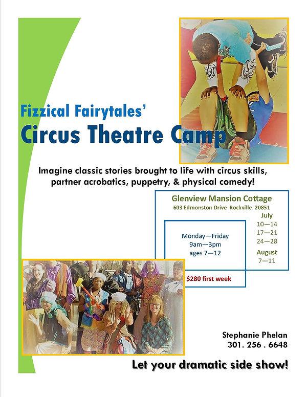 Fairy Tale Circus Theatre Camp