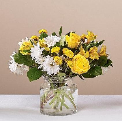 Sunny Sentiments Bouquet Medium