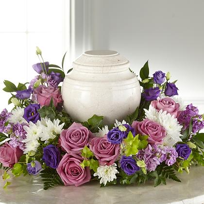 Sympathy Urn Roses Memorial