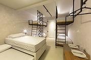 quarto, cama, Cobogo, Ponta Negra, RN, L