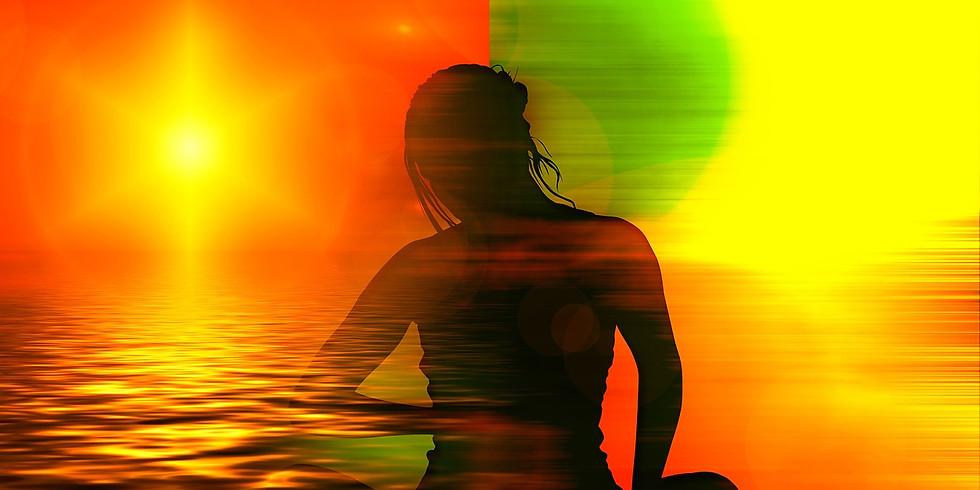 Méditation guidée par la couleur