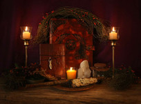 4-spiritual-altar-for-meditation-buildin