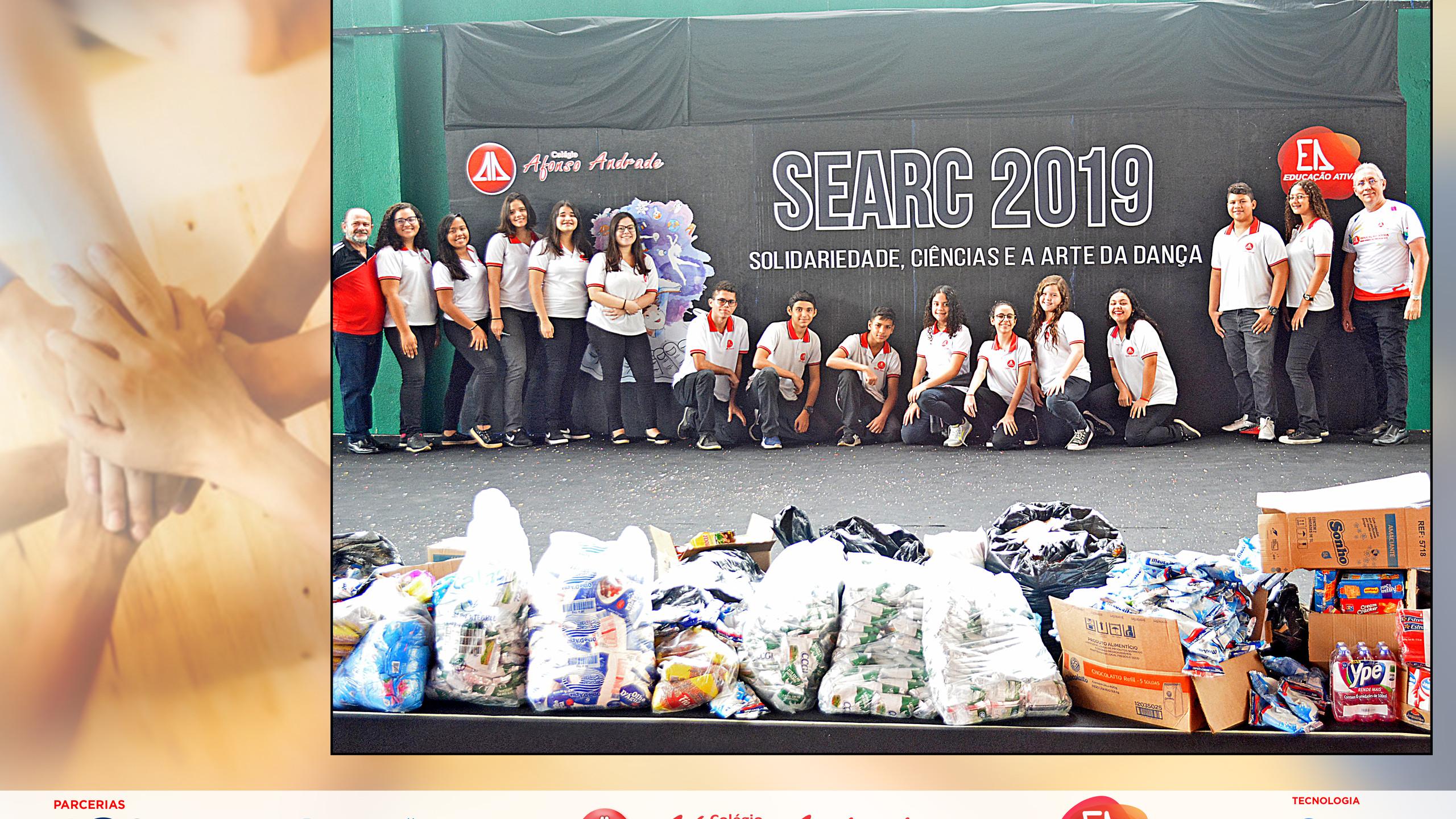Entrega de Alimentos - SEARC 2019