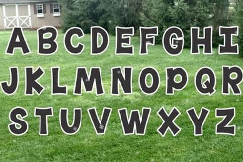 Alphabet Letter Set (68 pcs)