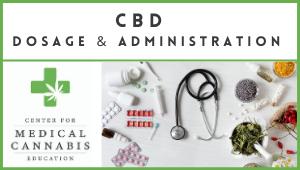 CBD Dosage & Admin