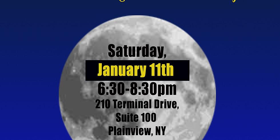 Full Moon Drum Circle January