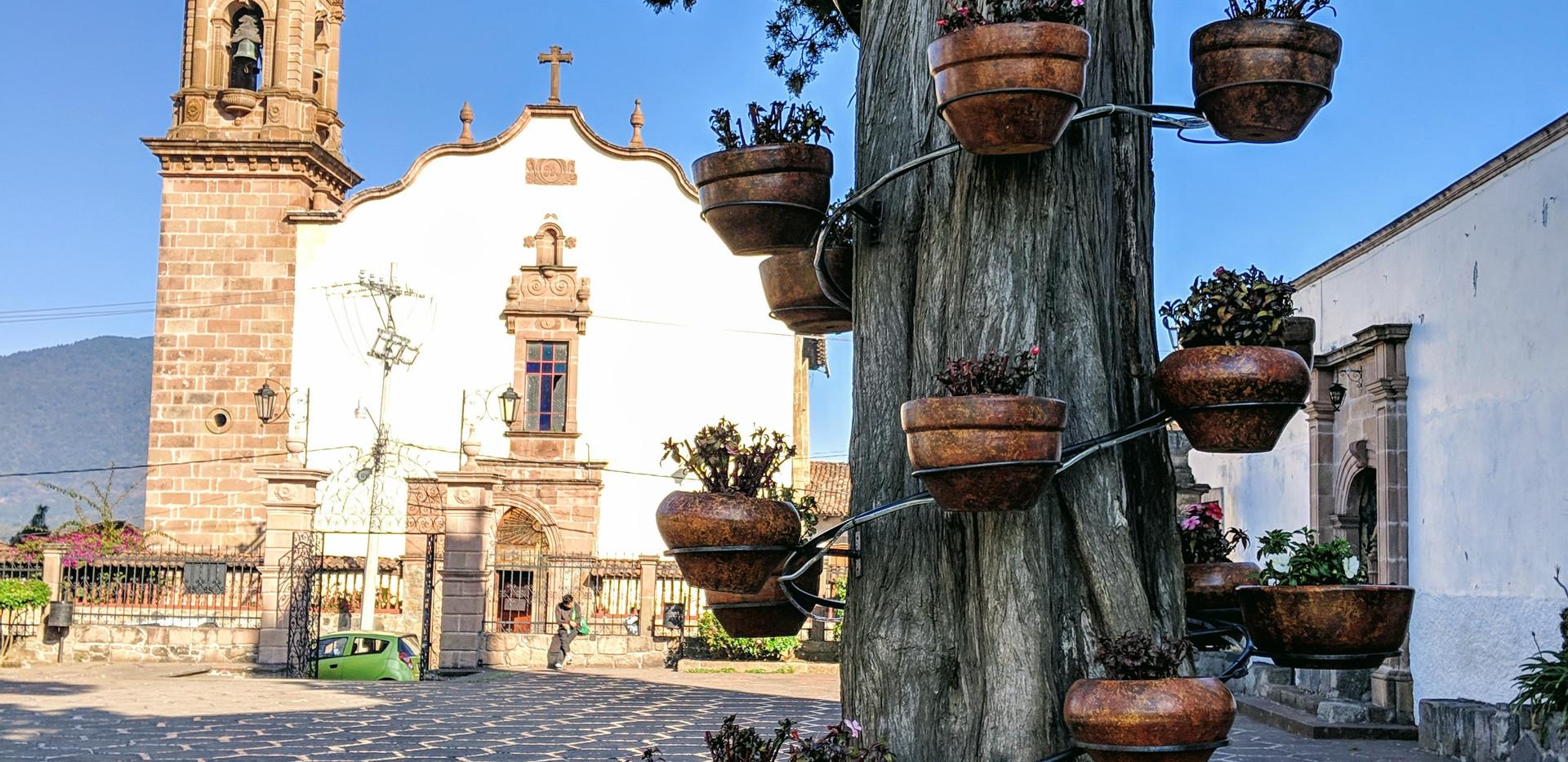 Santa Clara del Cobre Church