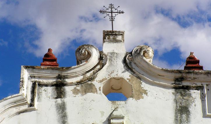 Church in Teotitlan, Oaxaca, Mexico_edit