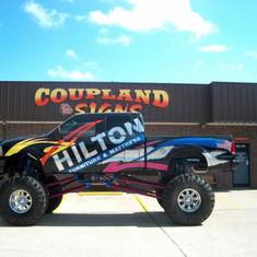 Hilton Furniture Truck