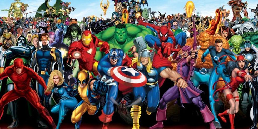 Super Heros (Ages 21+) BYOB