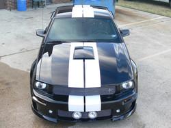 Black Mustang GT